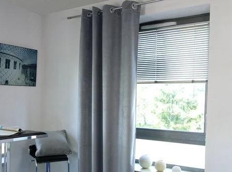 un rideau isolant thermique ou