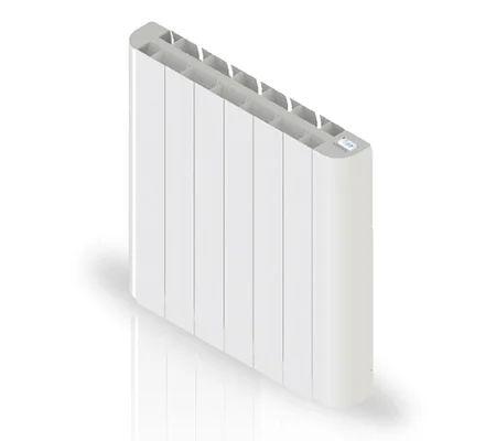 Radiateur Electrique A Inertie Seche 1000 W Hjm Marne Horizontal Blanc Leroy Merlin