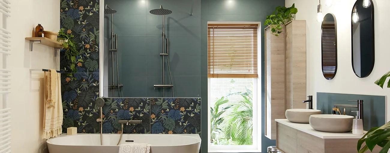 une salle de bains chic ambiance