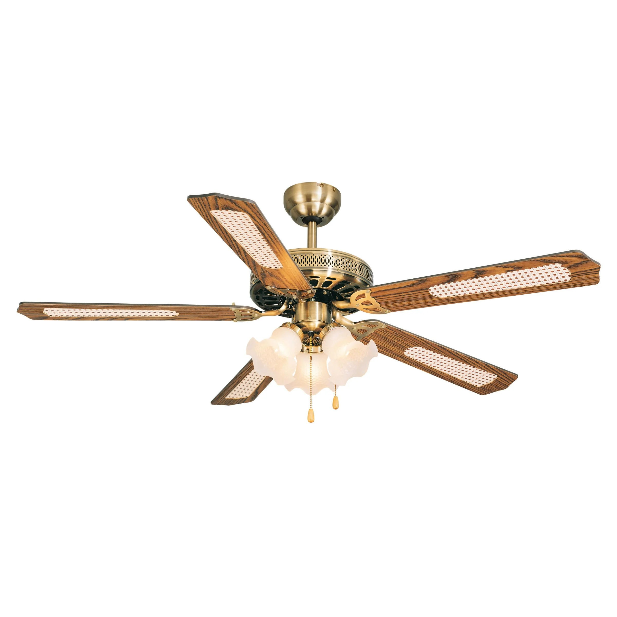 Get the best of shopping and entertainment with prime. Ventilatore Da Soffitto Reunion Rovere Rovere Paglia D 132 Cm Inspire Leroy Merlin