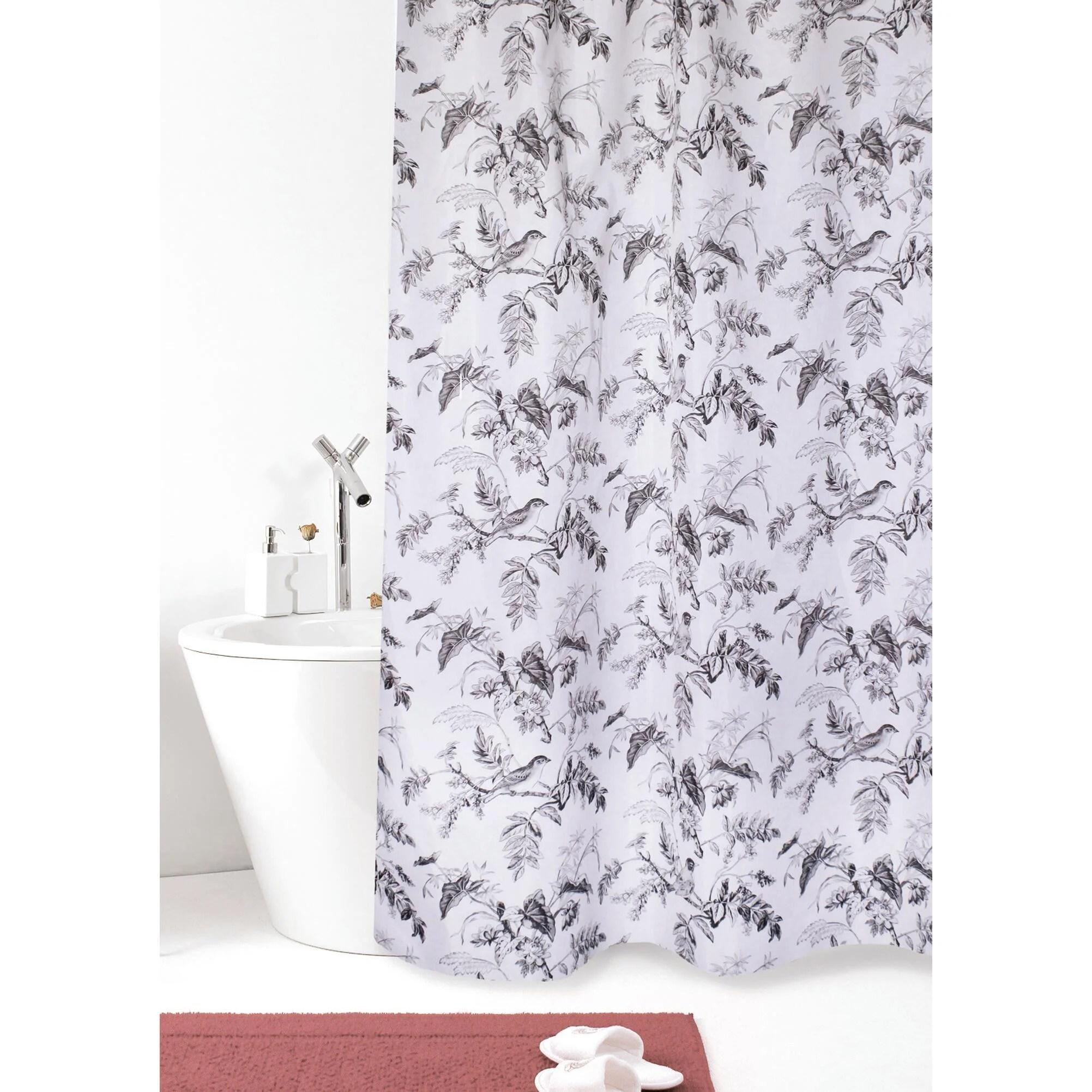 Le tende doccia leroy merlin sono la soluzione ideale per arredare il vostro bagno all'insegna della semplicità e donare allo stesso tempo un tocco di. Tenda Doccia Vintage In Poliestere Nero L 120 X H 200 Cm Leroy Merlin