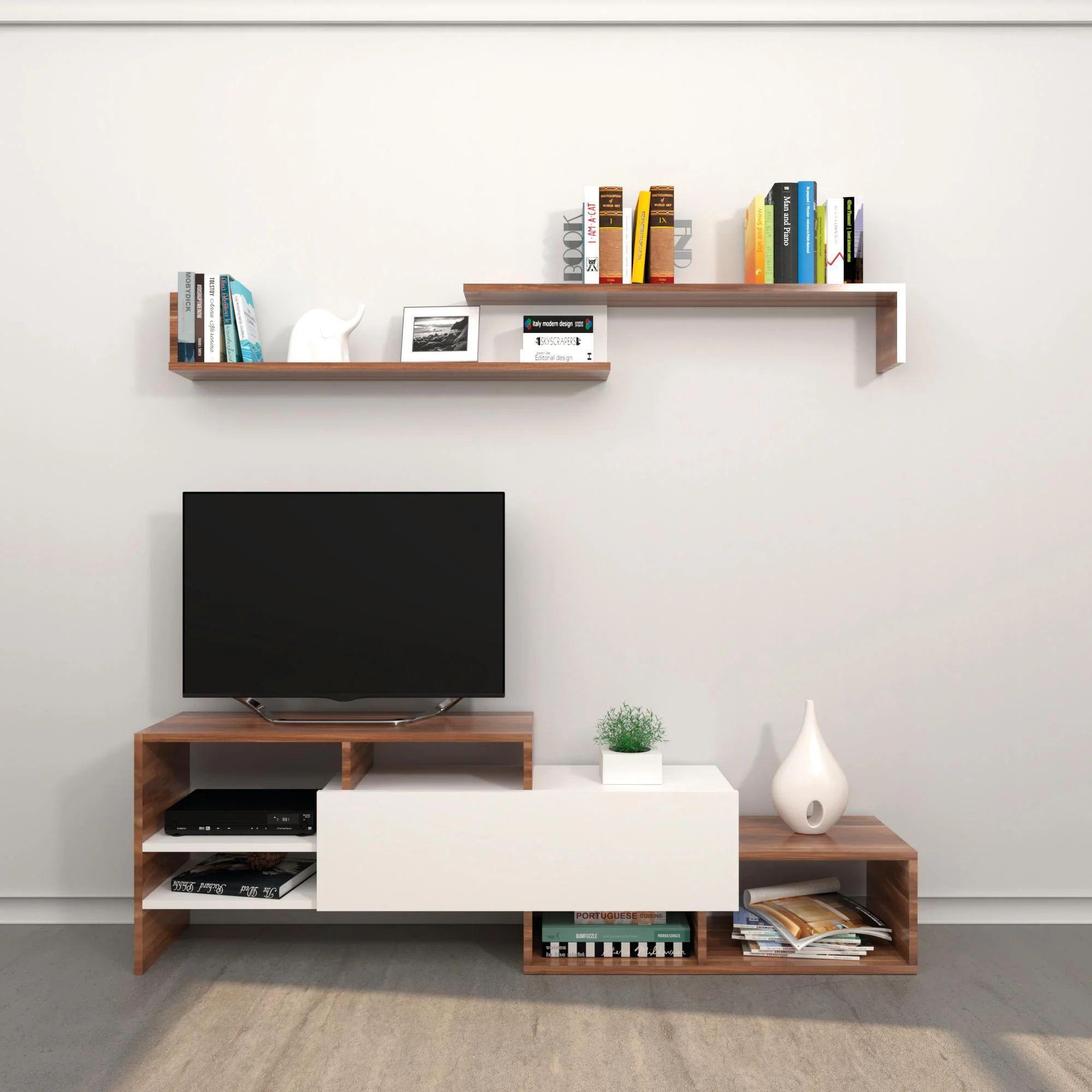 Da arredissima puoi trovare mobili per il soggiorno moderni, ricercati e funzionali, che uniscono il design a soluzioni tecnologiche innovative per soddisfare ogni tipo di esigenza. Mobile Per Tv Fenice L 150 X H 45 X P 27 Cm Leroy Merlin