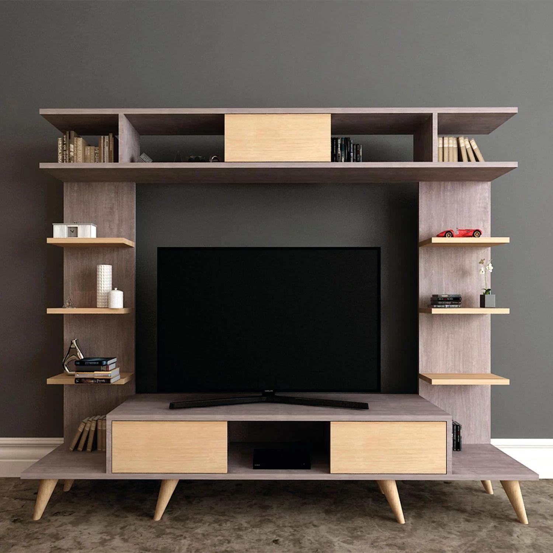 leroy merlin scopri offerte e prezzi di casette in legno da esterno. Mobile Per Tv Pan L 180 X H 135 X P 35 Cm Leroy Merlin