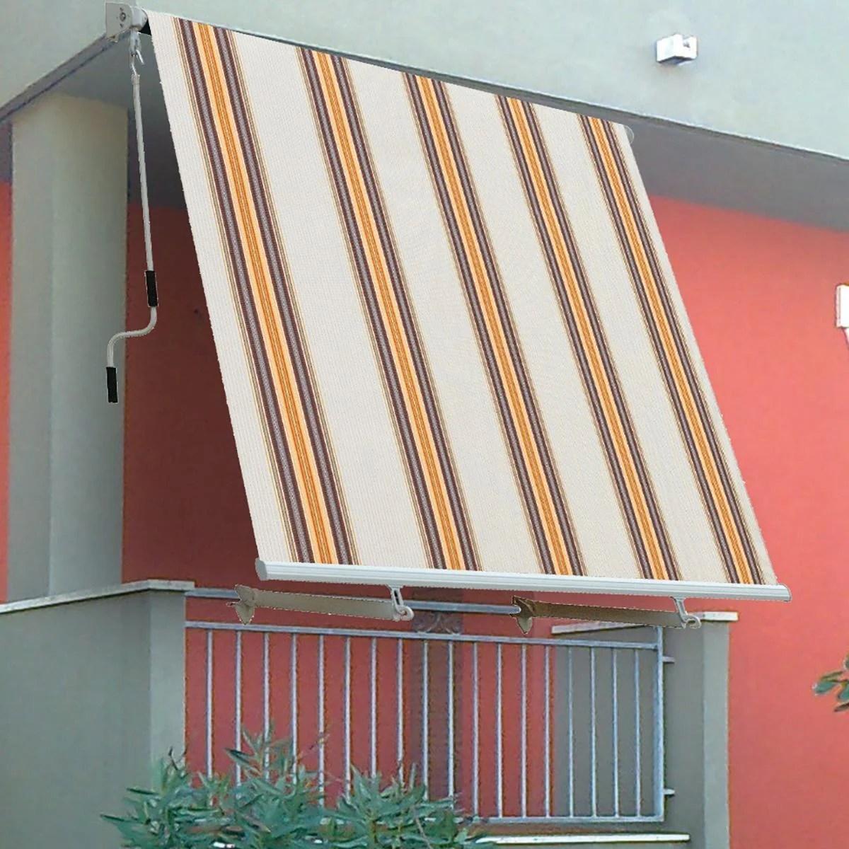 Le tende da sole a caduta valorizzano gli ambienti esterni della tua casa e sono adatte per proteggere la tua abitazione dal sole e migliorarne l'estetica. Tenda Da Sole A Caduta Con Bracci L 2 45 X H 2 45 M Beige Leroy Merlin