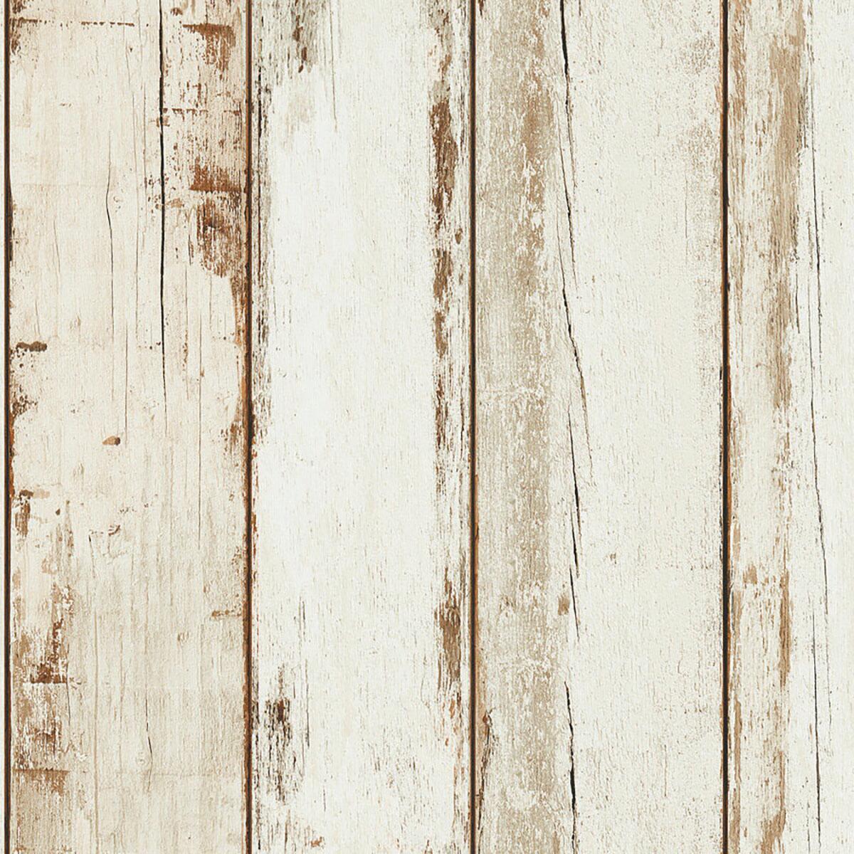 Carta da parati effetto legno multicolor shabby chic in pvc su tnt natural look. Carta Da Parati Doghe Legno Beige 53 Cm X 10 M Leroy Merlin