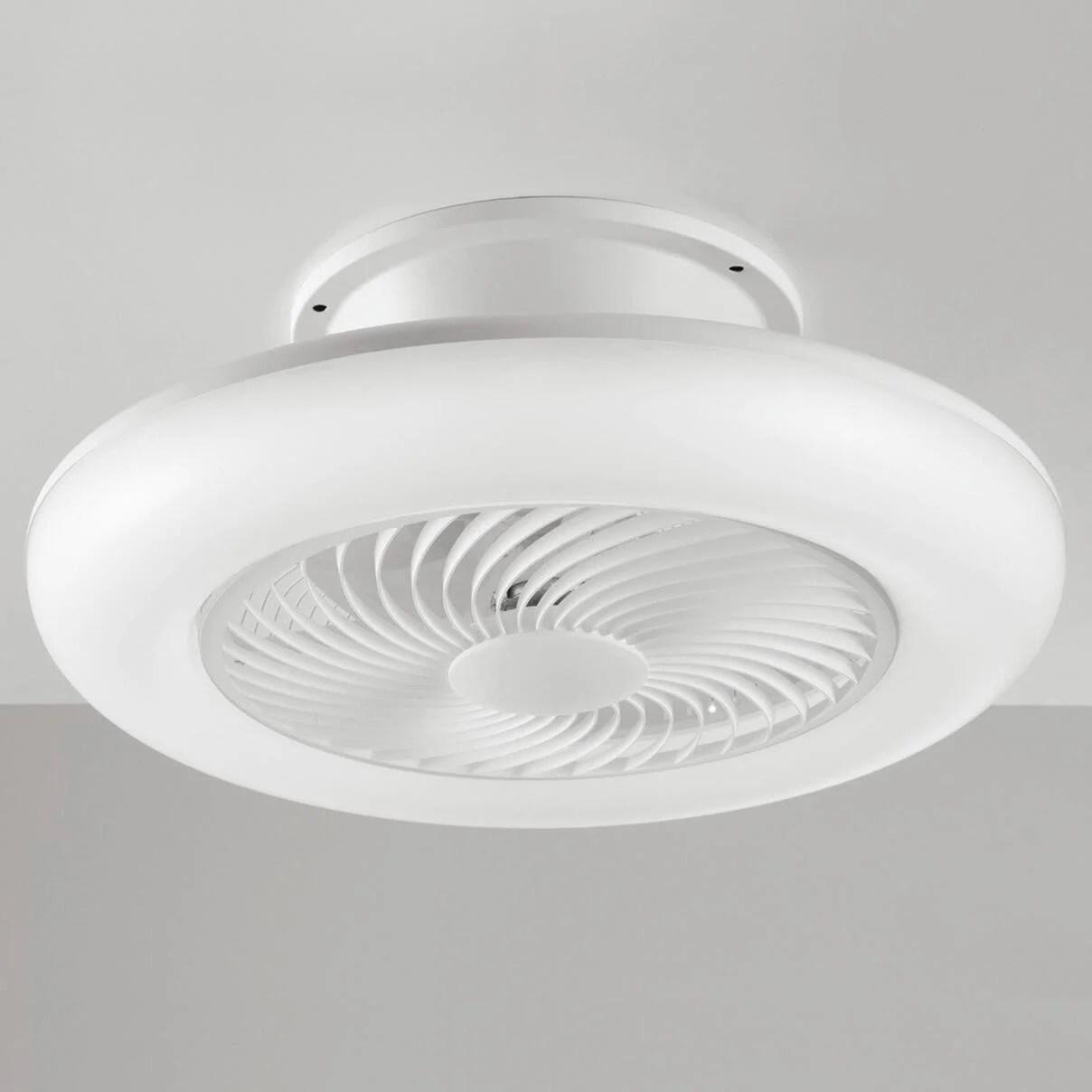 Classe di sicurezza consigliata per appartamenti. Ventilatore Da Soffitto Led Integrato Aliseo Bianco D 55 Cm Con Telecomando Intec Leroy Merlin