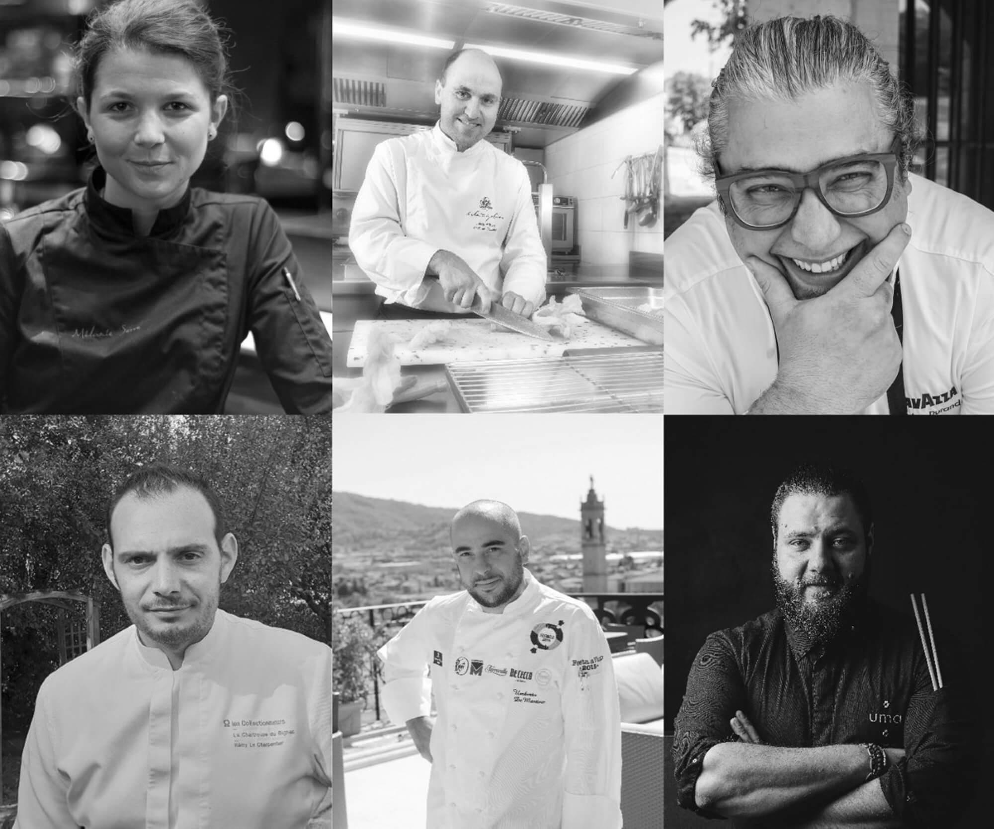 Six chefs Collectionneurs au Resto des Chefs dEquipHotel 2018  les Collectionneurs