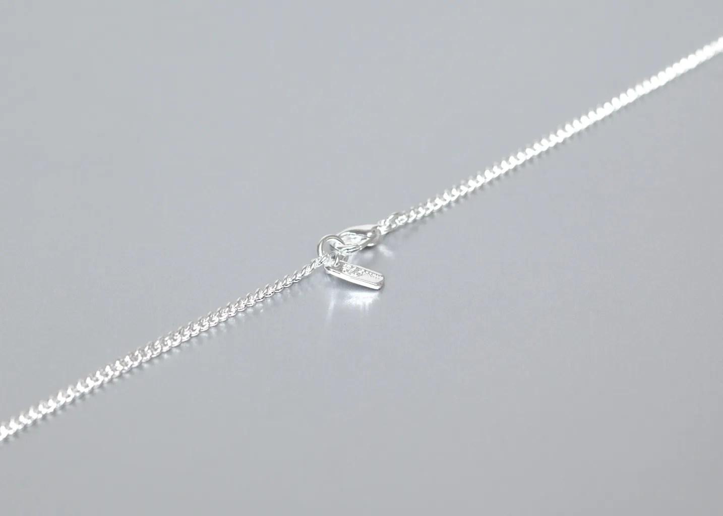 Pencil Necklace Miss Bibi Silver L'Exception