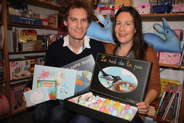 Pierre et Claire se sont lancées dans la création de jeux de société en 2012.