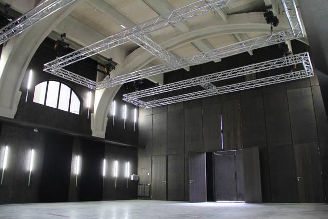 Le Cellier dispose d'une vaste salle de création.