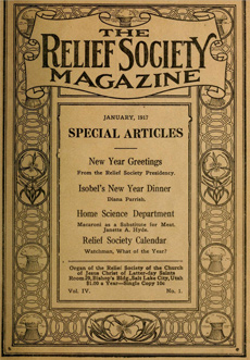 Relief Society Magazine Index 19141970  Collections  HBLL