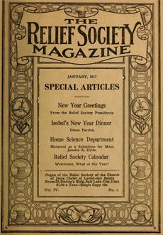 Relief Society Magazine Index 1914 1970 Digital