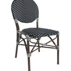 Chair Design Brands Weird Kneeling Aspen Cbcbbw Cafe Black And White Outdoor Bistro Stackable Photo