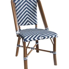 Outdoor French Bistro Chairs Youth Table And Aspen Brands Nwcbc Cafe Navy White Chair Commercial Grade Photo
