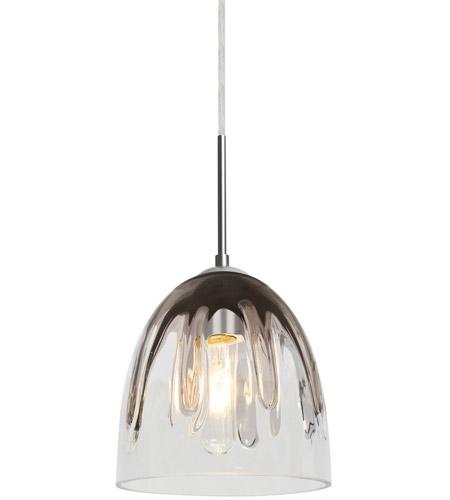phantom 6 1 light satin nickel cord pendant ceiling light