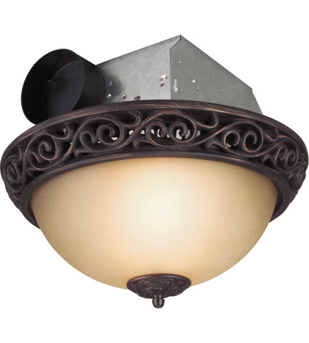 craftmade tfv70l aiorb decorative oil rubbed bronze bath exhaust fan with light