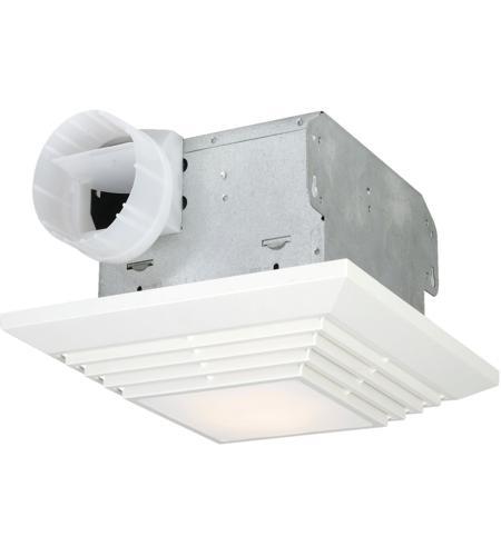 craftmade tfv90l decorative designer white bath exhaust fan with light