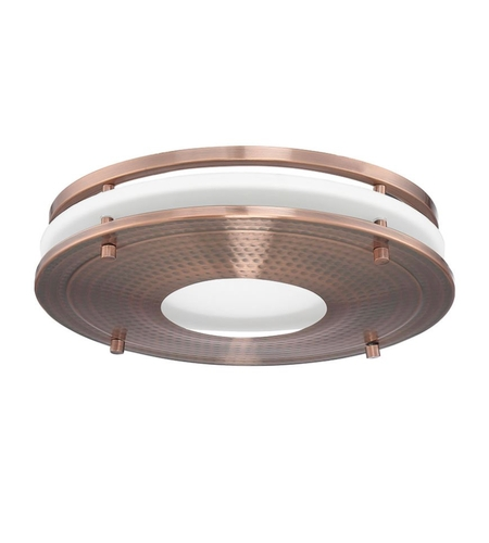 decorative hammered copper bath exhaust fan retrofit kit in led vent sold separately