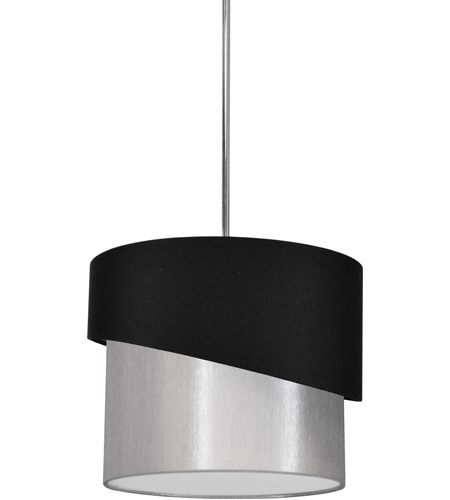 Dainolite JAZ141-PC-797-835 Jazlynn 1 Light 14 inch Polished Chrome Pendant Ceiling Light