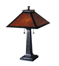 Dale Tiffany Mica Camelot Table Lamp 2 Light in Mica ...