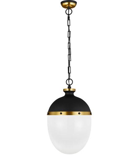 generation lighting tp1082mbk bbs tob by thomas o brien aubry 2 light 13 inch midnight black burnished brass pendant ceiling light
