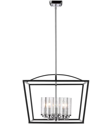 golden lighting 4309 5 blk sd mercer 5 light 22 inch matte black chandelier ceiling light in matte black chrome