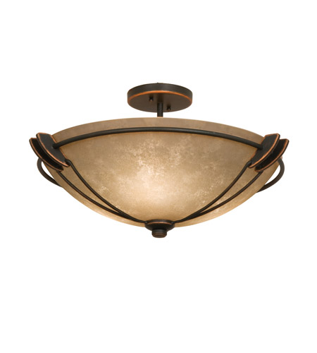 Kalco 4848acg3132 Grande 3 Light 22 Inch Antique Copper