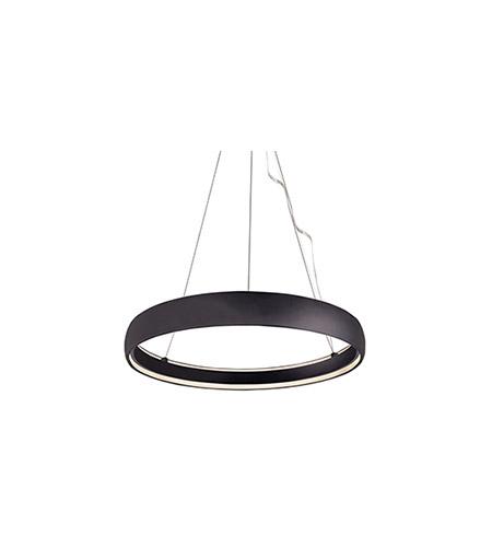 kuzco lighting pd22735 bk halo led 35 inch black pendant ceiling light