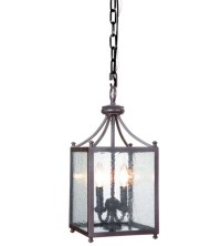 Mariana Carriage 2 Light Foyer Lantern in Bronze 980076