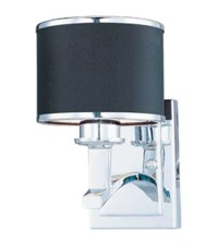 Maxim Lighting Salon 1 Light Wall Sconce in Polished