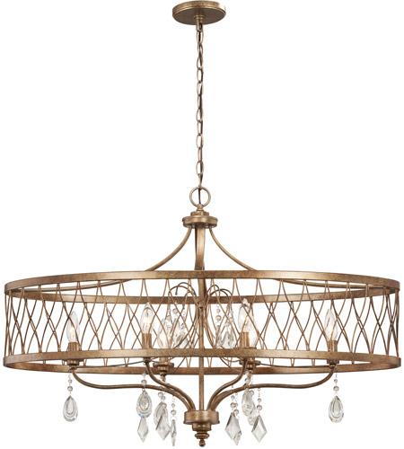 minka lavery 4407 581 west liberty 6 light 36 inch olympus gold island light ceiling light