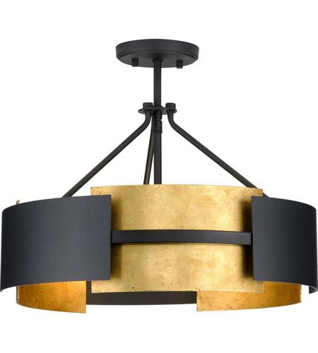 lowery 3 light 19 inch textured black semi flush mount convertible ceiling light design series