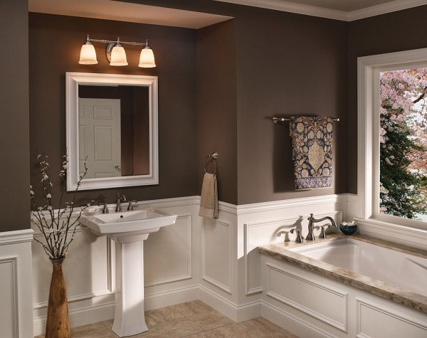 Progress Lighting P3028-09 Victorian Bathroom Vanity Light