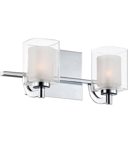 quoizel klt8602cled kolt led 13 inch polished chrome bath light wall light