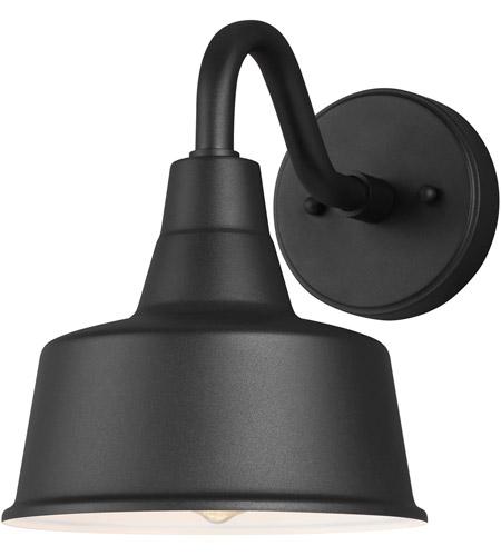 barn light 1 light 10 inch black outdoor wall lantern small