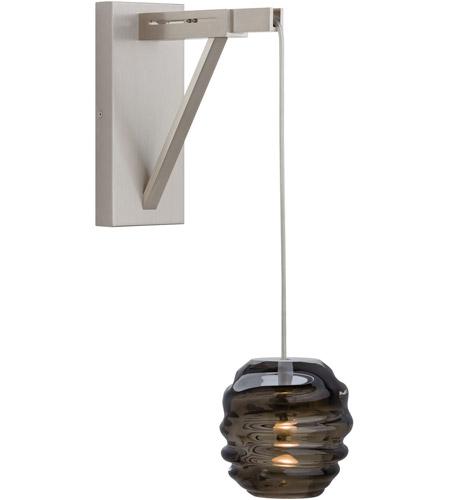 tech lighting 700wscfts clifton 1 light 12 inch satin nickel wall light