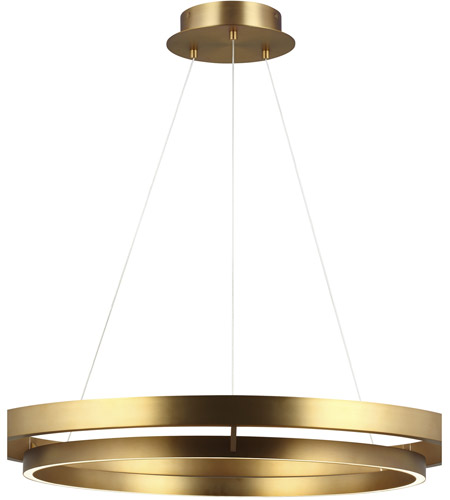 tech lighting 700grc36r led930 sean lavin grace led 36 inch aged brass chandelier ceiling light