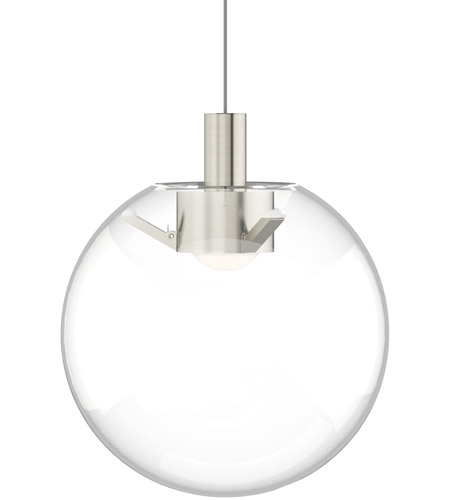 tech lighting 700moplncs led930 sean lavin mini palona led 8 inch satin nickel pendant ceiling light in monorail