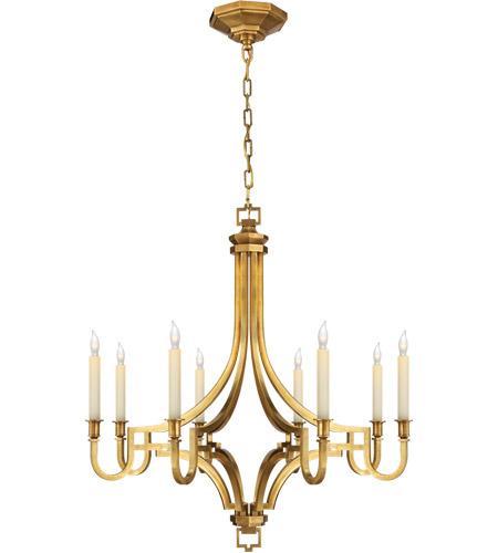 visual comfort chc1561ab e f chapman mykonos 8 light 28 inch antique burnished brass chandelier ceiling light