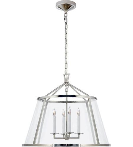 visual comfort chc2202pn cg e f chapman darlana 4 light 25 inch polished nickel pendant ceiling light