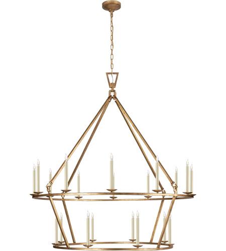 visual comfort chc5199gi e f chapman darlana 20 light 50 inch gilded iron chandelier ceiling light