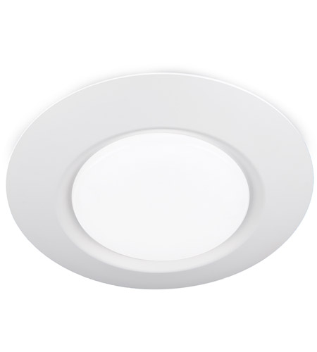i can t believe it s not recessed led 8 inch white flush mount ceiling light in 1