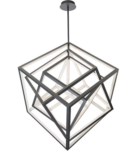 atlas led 26 inch black chandelier ceiling light in 26in dweled