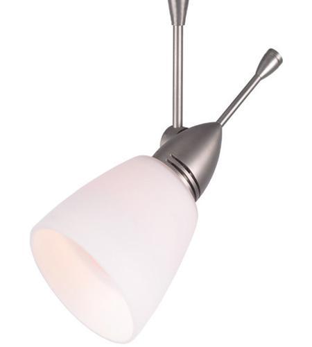 ego 1 light 12v brushed nickel track lighting ceiling light