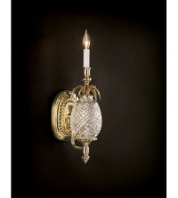 Waterford Crystal Polished Brass Hospitality Single Arm