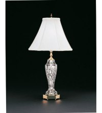 Waterford Crystal Polished Brass Evanwood Table Lamp 059 ...