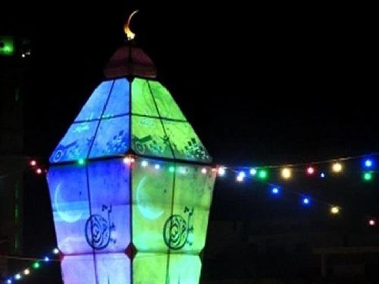إضاءة أكبر فانوس رمضاني في القدس مصراوى