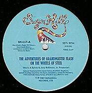 "2. ""Adventures of Grandmaster Flash on the Wheels of Steel"" - Grandmaster Flash"