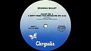 """23. """"CHANT #1"""" - Spandau Ballet"""