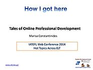 October | 2014 | How I got here - Tales of Online Professional Development
